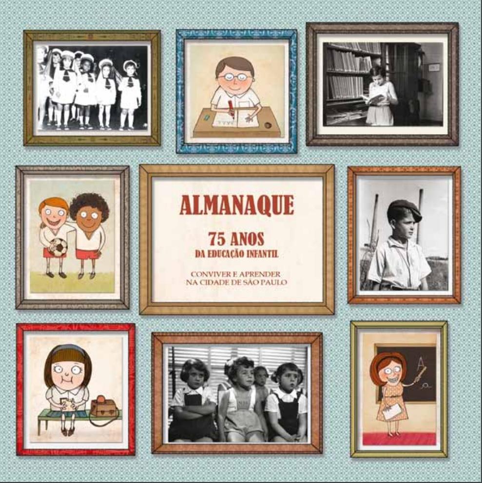 Capa do Almanaque Ed Infantil