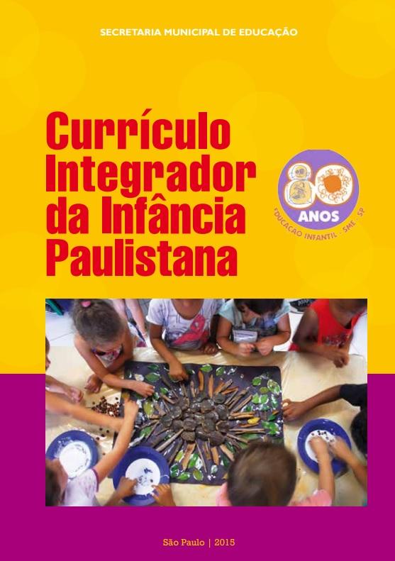 Capa do Currículo Integrador Ed Infantil